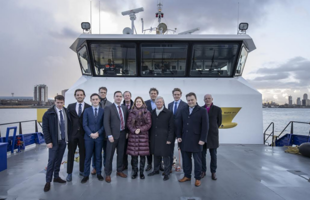 Damen gives presentation to government minister at Rotterdam maritime sector meeting