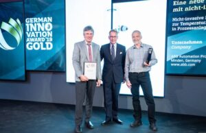 ABB's pioneering non-invasive sensor wins Gold in German Innovation Awards
