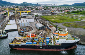 Damen and Wilson Sons complete shallow dive support vessel conversion in Brazil_lowres