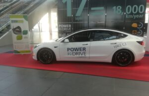 Next Move unveils Power Drive Electric Car