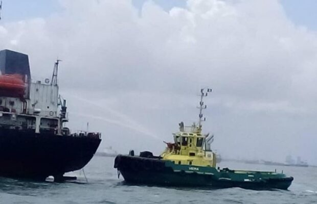 "NIMASA rescues tanker vessel ""Sea Voyager"" from fire incident"