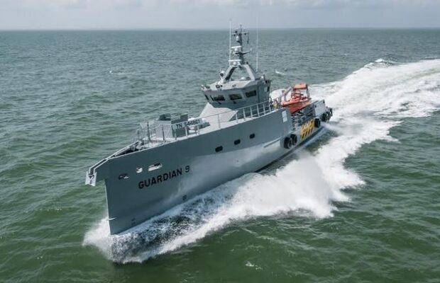Latest Damen FCS 3307 Patrol vessels
