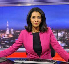 BBC World News presenter Zeinab Badawi